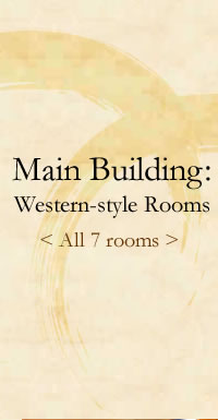 Main Building: Western-style Rooms All 7 rooms